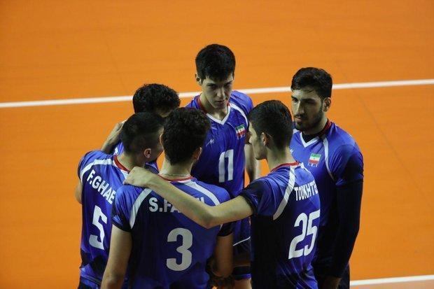 برنامه تیم ملی والیبال در تورنمنت اسلوونی