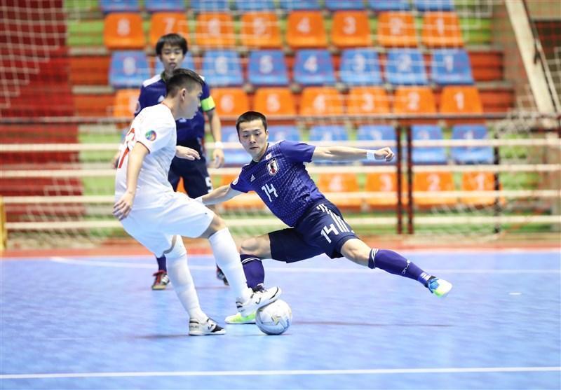 فوتسال قهرمانی زیر 20 سال آسیا، ژاپن با برد مقابل ویتنام صدرنشین ماند