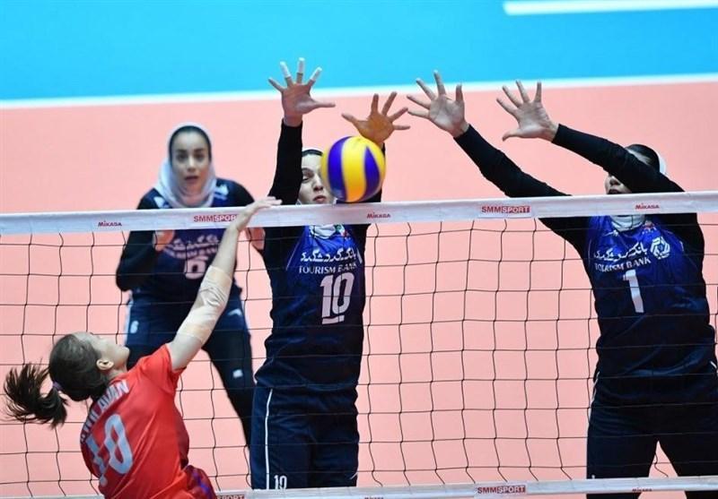 والیبال بانوان قهرمانی آسیا، دختران ایران به چین تایپه هم باختند