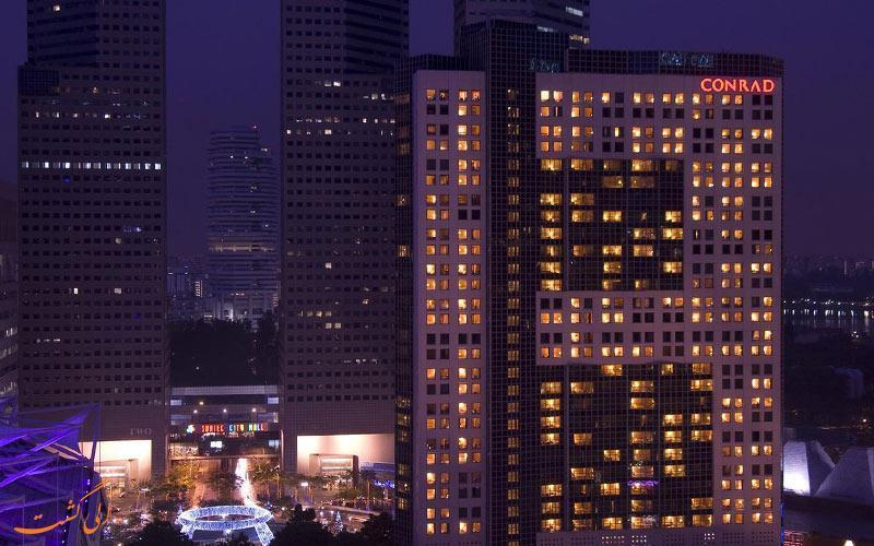 معرفی هتل 5 ستاره کنراد سنتنیال در سنگاپور