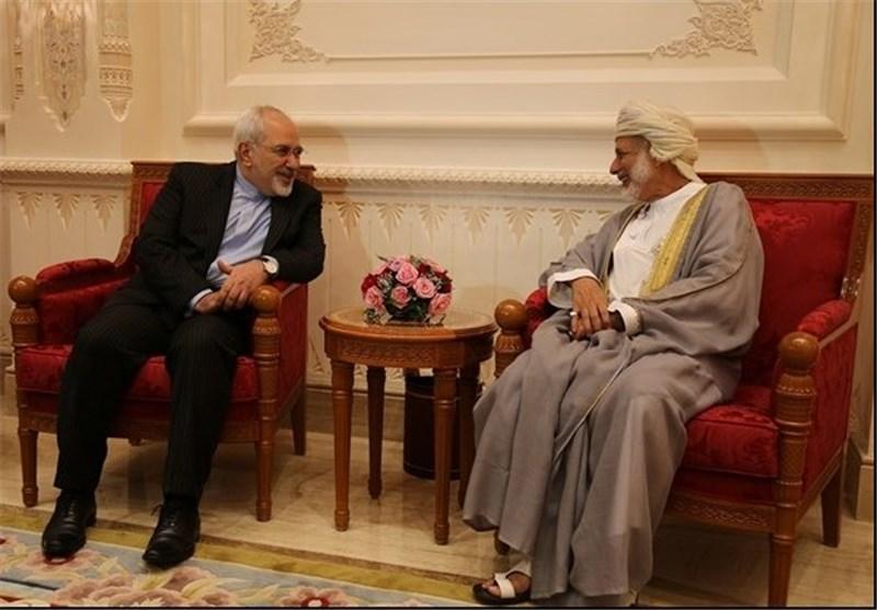 ظریف و وزیر خارجه عمان در وین دیدار کردند