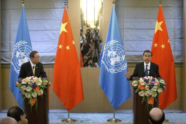بان کی مون حل مسالمت آمیز مناقشه دریای چین جنوبی را خواهان شد