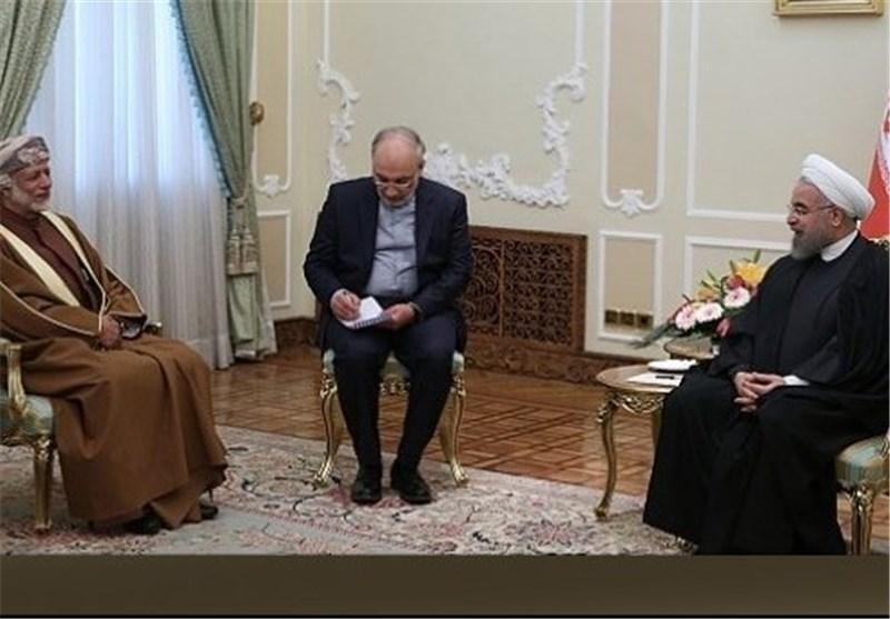 وزیر خارجه عمان با روحانی دیدار کرد
