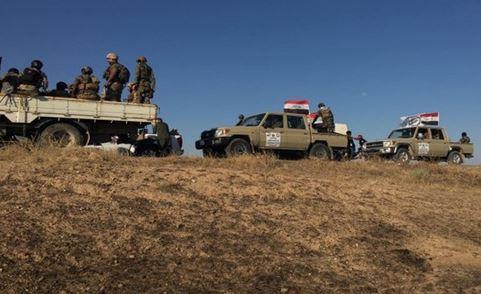 عملیات مشترک پاکسازی مناطقی در استان نجف و کربلا از تروریست ها