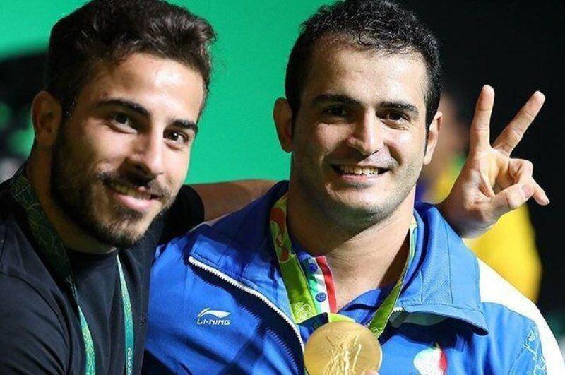 خبرنگاران گره سخت دسته 96 کیلوگرم وزنه برداری در راه المپیک