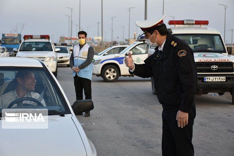 خبرنگاران 244 خودروی متخلف در جاده های کردستان اعمال قانون شدند