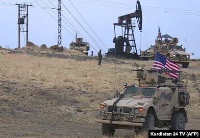 آمریکا اعتراف کرد به خاطر نفت در سوریه است