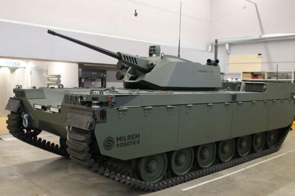 فراوری تانک هوشمند و زرهی کنترل از راه دور