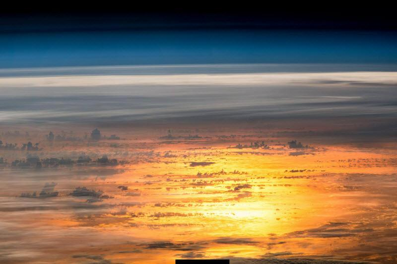 ناسا، منظره زیبای غروب آفتاب در سطح سیارات و قمرهای منظومه شمسی را در این ویدئو شبیه سازی کرده است