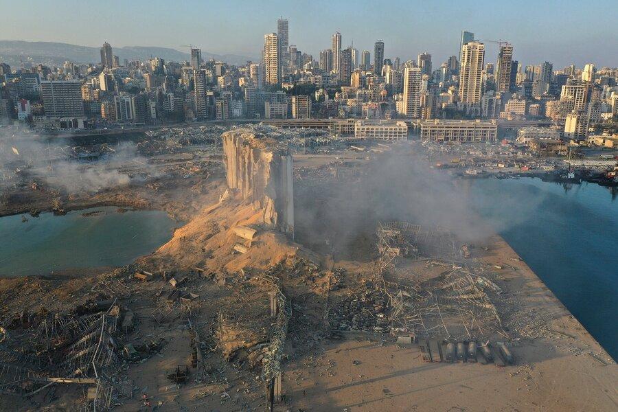 انتشار اطلاعات نادرست درباره علت انفجار لبنان توسط عربستان ، می خواهند یک گروه خاص را مقصر معرفی کنند