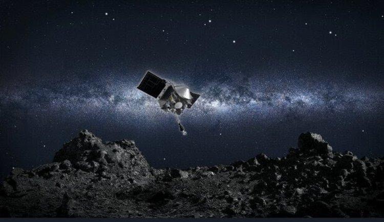 ناسا توانست برای اولین بار از یک سیارک نمونه برداری کند