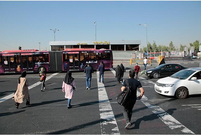 خبرنگاران شهردار منطقه 5: دسترسی غیر همسطح به ایستگاه BRT جناح فراهم می گردد