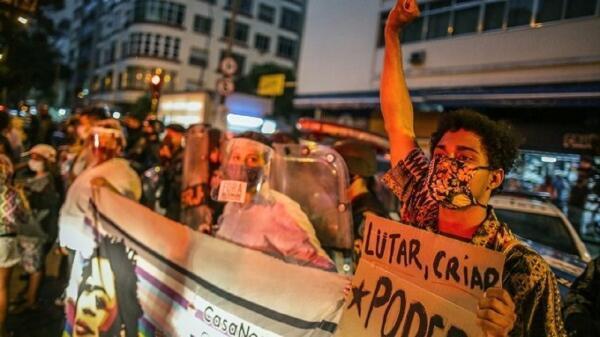 مردم برزیل خواهان برکناری رئیس جمهور کشورشان شدند