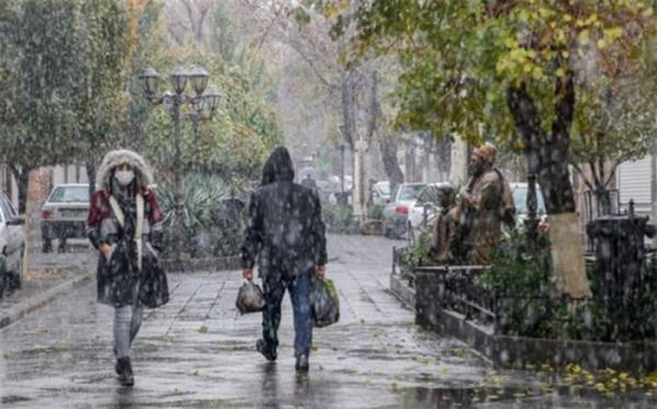 ورود سامانه بارشی جدید به کشور؛ دمای هوا 5 تا 7 درجه کاهش می یابد