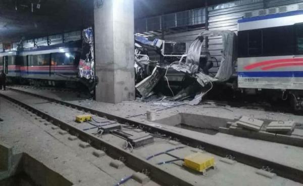 جزئیات خروج یک واگن قطار شهری تبریز از ریل