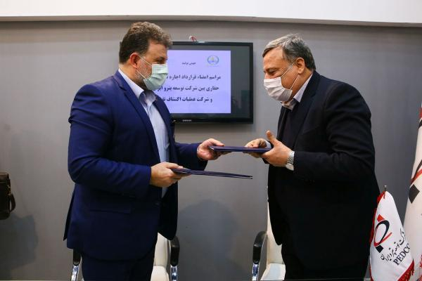 قرارداد اجاره 2 دکل حفاری برای طرح منصورآباد امضا شد