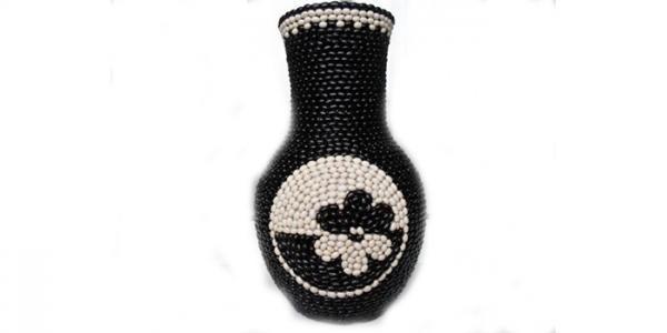 ایده های خلاقانه برای تزیین گلدان سفالی