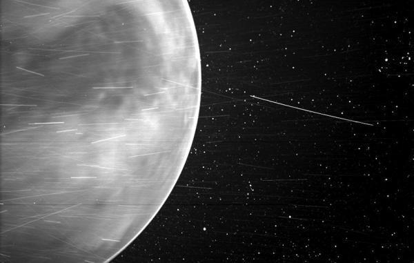 کاوشگر خورشیدی ناسا تصویر غیرمنتظره ای از سیاره زهره فرستاد