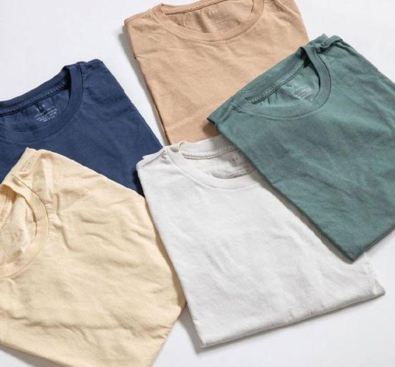 قیمت تیشرت خام برای چاپ در رنگ های متنوع