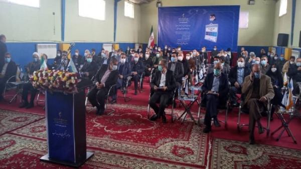 رئیس جمهور بهره برداری از سد نهب را همزمان با 5 طرح دیگر کشوری ویدئو کنفرانسی افتتاح کرد.