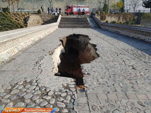 شروع بازسازی پل خاتون کرج