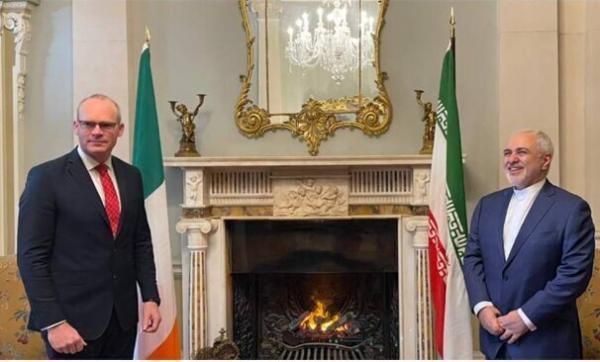 دیدار ظریف با همتای ایرلندی، عکس
