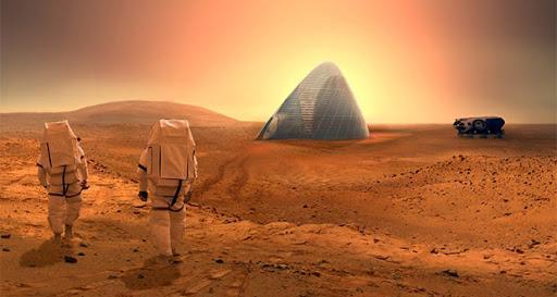 فراوری نانو ماده ای روانساز برای سفر های مریخی