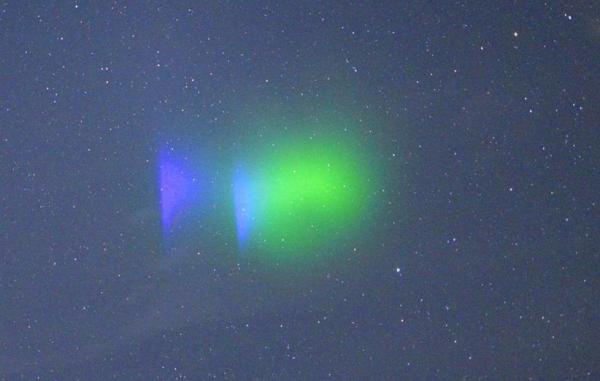 ابرهای مصنوعی ناسا منظره ای تماشایی در شمال برمودا ساختند