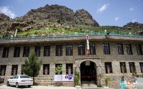 هتل شادی هورامان؛ هتلی با معماری سنگی در مریوان، عکس