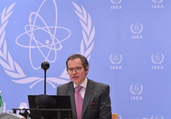 آژانس اتمی: کنفرانس خبری گروسی دوشنبه صبح برگزار می گردد