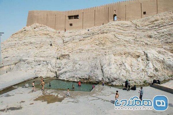 فاز اول پروژه حفاظت از تپه چشمه علی با اعتباری بالغ بر دو میلیارد اجرا می شود