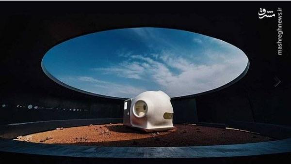 خانه کوچک چینی ها برای مریخ