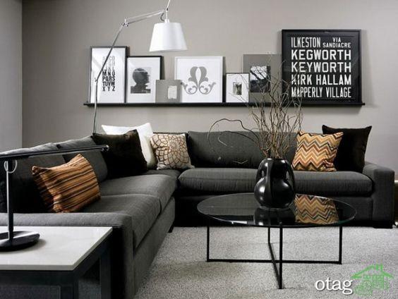 دکوراسیون اتاق پذیرایی با چیدمانی مناسب برای آپارتمان ها